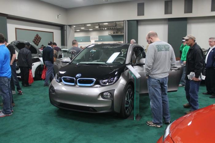 BMW i3 auto show