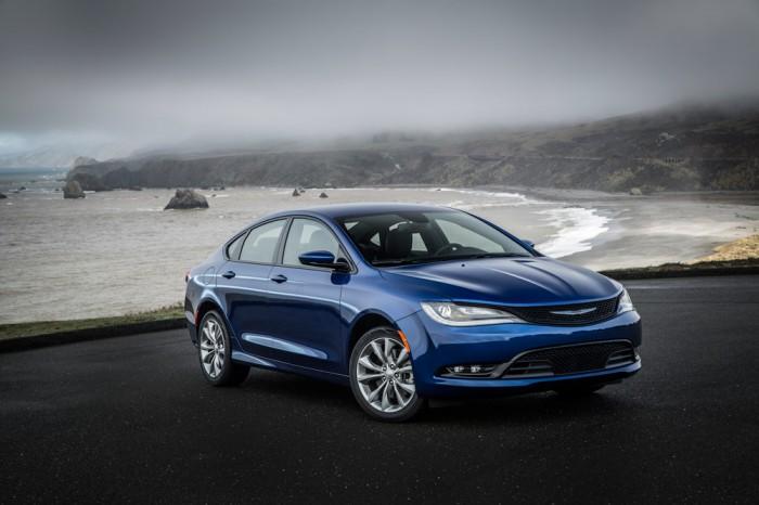 Blue 2015 Chrysler 200 Chrysler Group's 2015 Portfolio