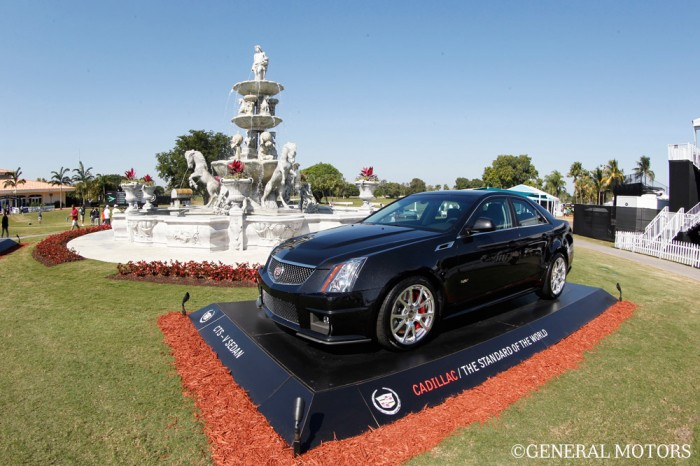 cadillac cts v at the wgc cadillac championship. Cars Review. Best American Auto & Cars Review