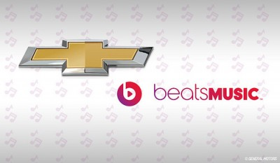 Chevrolet and Beats Music