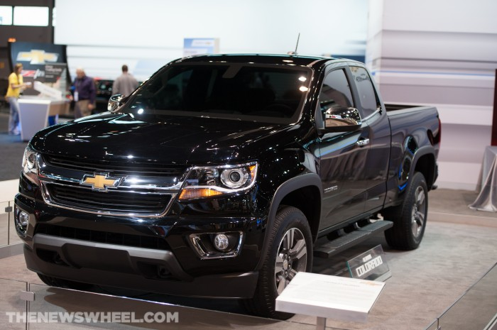 2015 Chevrolet Colorado is shedding pounds