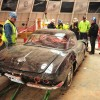 Dirty Corvettes being Pulled from Sinkhole
