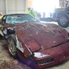 red 1993 40th Anniversary Corvette Corvettes Being Pulled