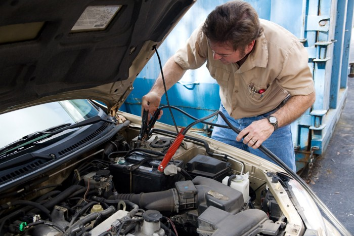How To Use Jumper Cables Jump Start A Car Printable Cars