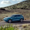 Light Blue Porsche Cayenne