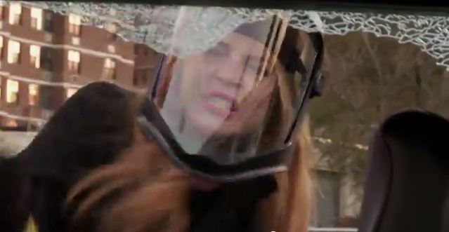 Lindsay Lohan and Billy Eichner Destroy a Car