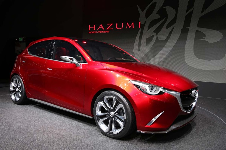 Mazda HAZUMI Concept in Geneva is Basically Next Mazda2 - The News Wheel