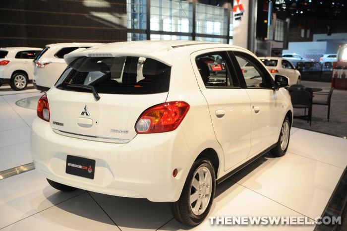 Mitsubishi Mirage is at the top of Car's Top 10 New Cars for Penny Pinchers.
