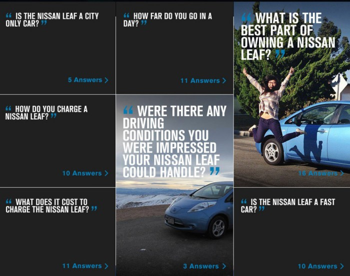 Nissan Leaf Infographic