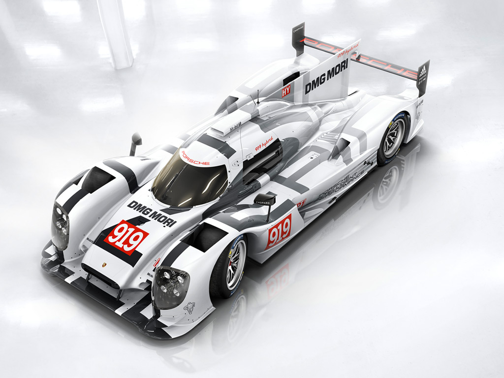 porsche 919 hybrid honors porsche s past paves path to its future. Black Bedroom Furniture Sets. Home Design Ideas