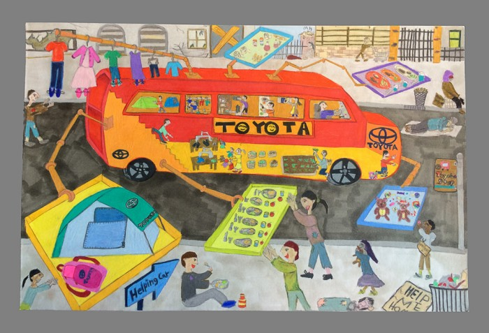 Toyota Dream Car Art Contest Winners