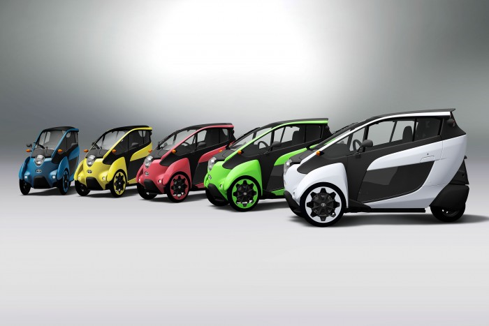 Toyota i-Road consumer trials will begin today.