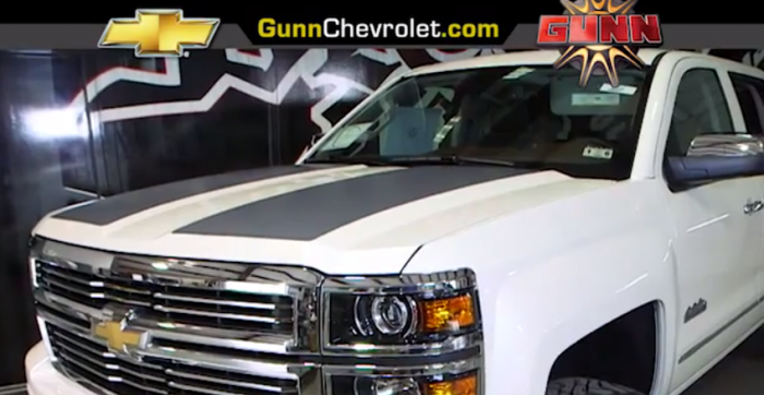 Tim Duncan Customized 2014 Silverado