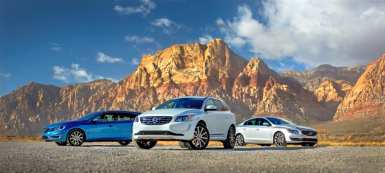 Four Volvos Earn IIHS Top Safety Pick+