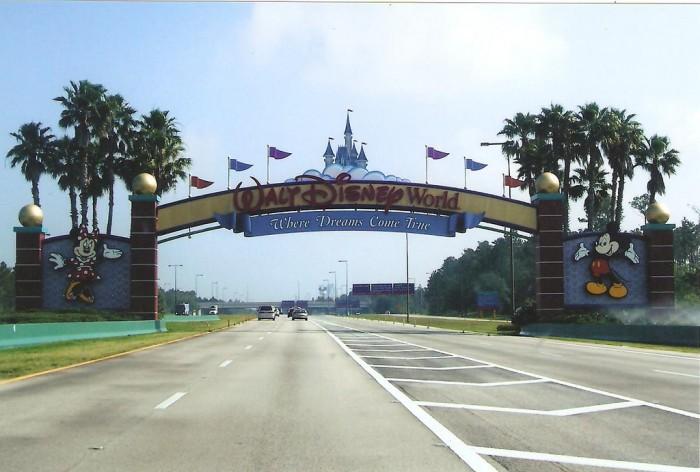 Walt Disney World Gate