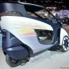The Toyota i-Road, shown here at the Chicago Auto Show
