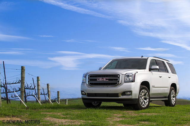 The 2015 GMC Yukon was largely responsible for the boost seen in GMC's April sales.