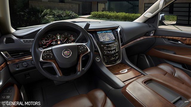 2015 Escalade Interior