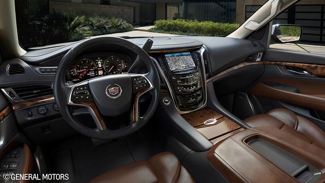 2015 Cadillac Escalade Interior - 2015 Cadillac Escalade Craftsmanship