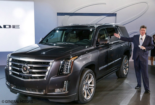 2015 Cadillac Escalade Benefits Cadillac's April Retail Sales