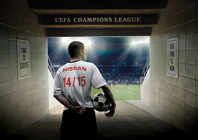 Nissan and UEFA