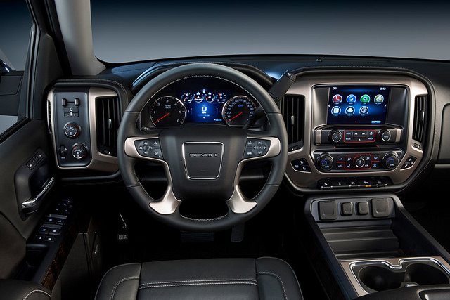 gmc sierra denali interior earns recognition by wards