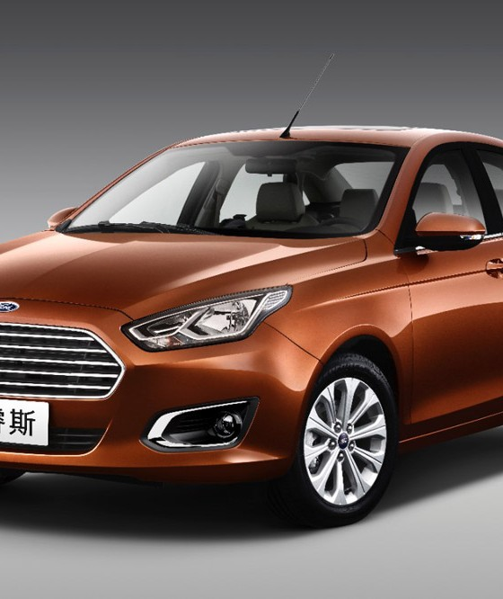 2015 Ford Escort Unveiled At Beijing Auto Show