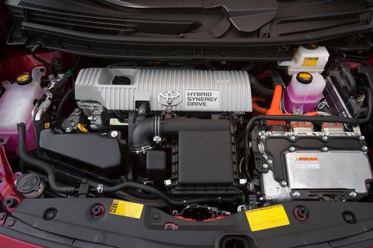 2013 Prius Engine