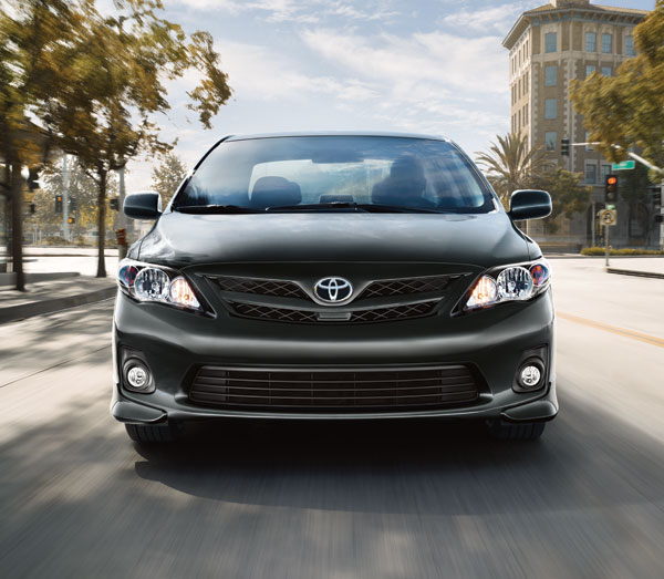 2013 Toyota Corolla overview