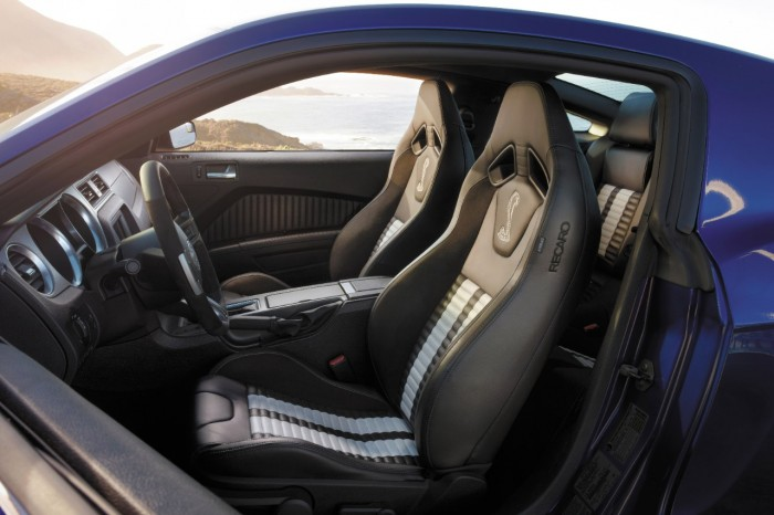 2014 mustang shelby interior