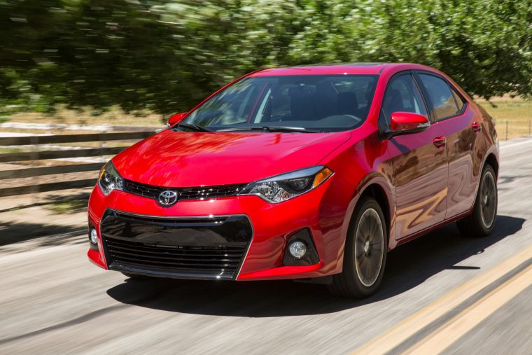 toyota corolla named most reliable car in america the news wheel. Black Bedroom Furniture Sets. Home Design Ideas