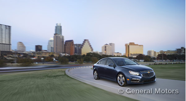 updates for the 2015 Chevy Cruze