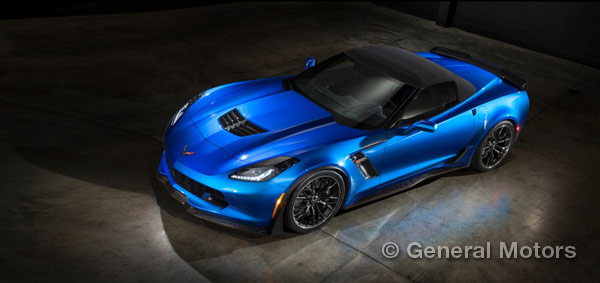 2015 Corvette Z06 weight convertible