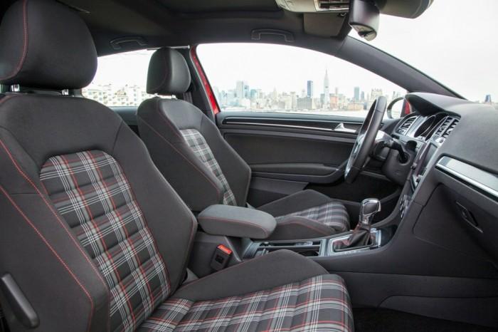 2015 Golf GTI interior