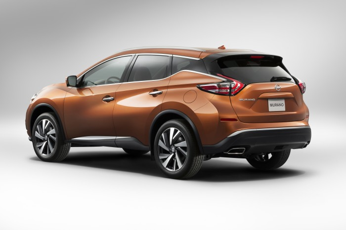2015 Nissan Murano Best New/Redesigned Midsize Crossover