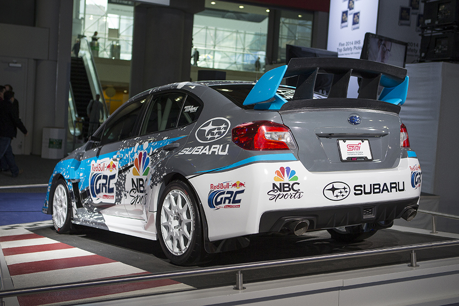 2015 Subaru Rallycross Sti Debuts In New York The News Wheel