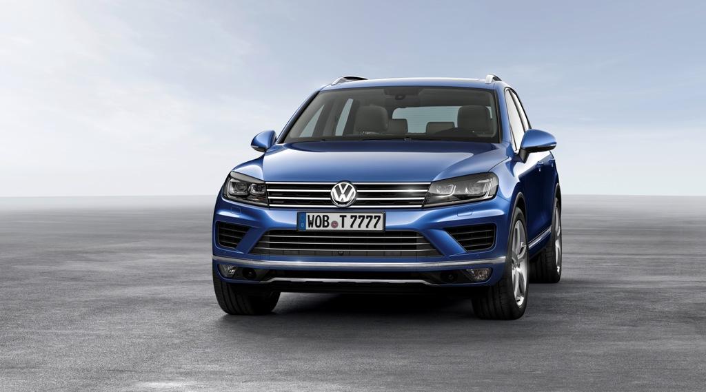2015 VW Touareg Volkswagen (1)