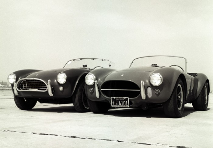 The 289 Shelby Cobra and 427 Shelby Cobra