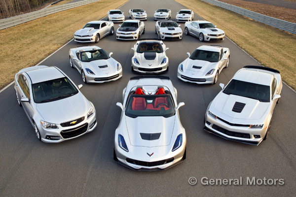 Chevy Performance Lineup