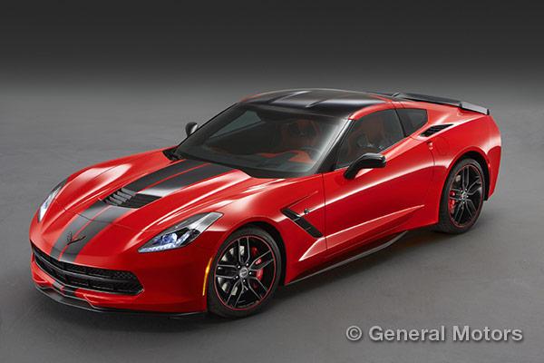 2015 Corvette Design Packages - Pacific