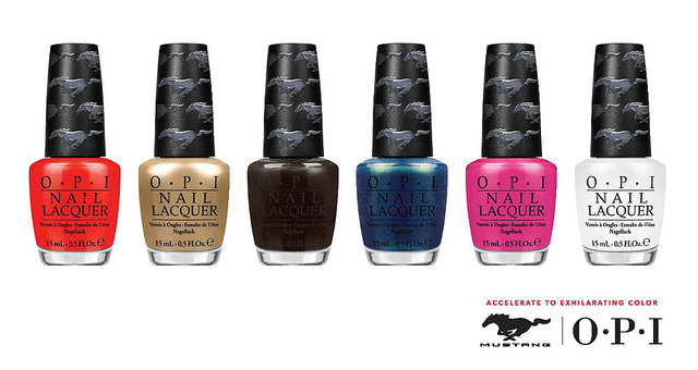 Ford Mustang nail lacquer collection