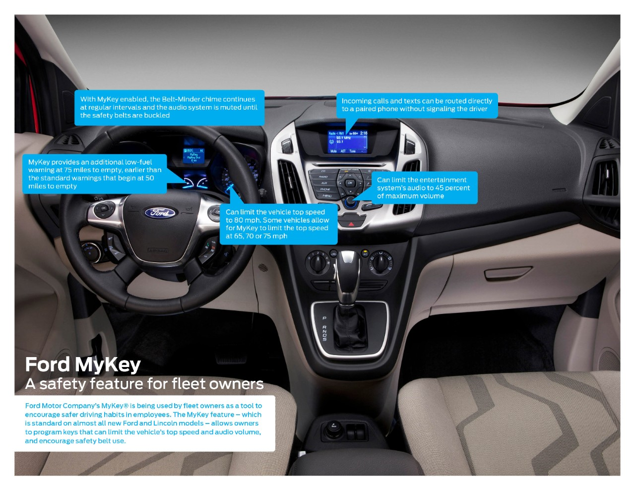 Ford My Key >> Ford Mykey Translates To Safer Fleet Driving The News Wheel