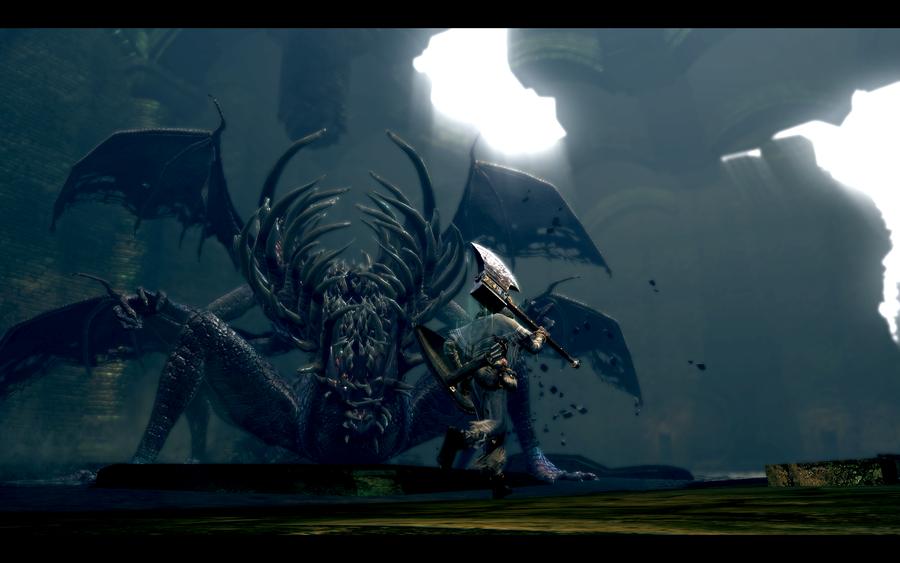 Gaping Dragon Dark Souls 2
