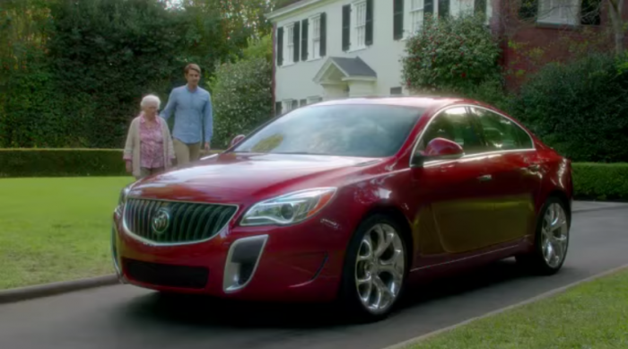 Buick commerical