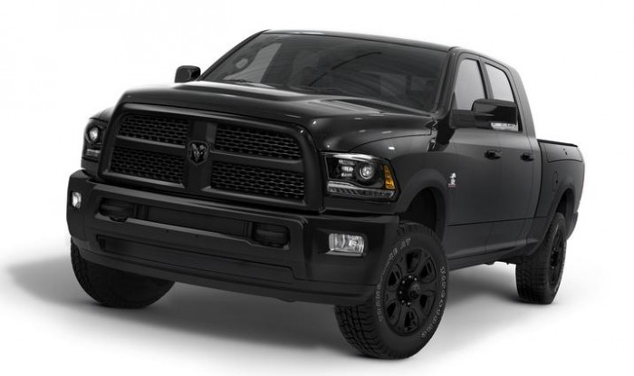 2014 Ram Heavy Duty Black package