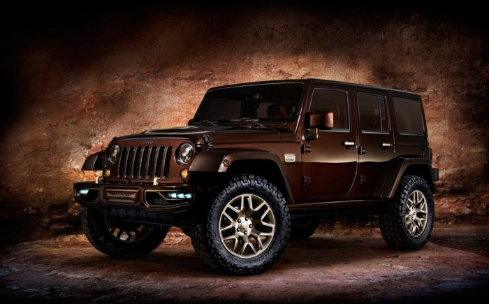 four Jeep design concepts