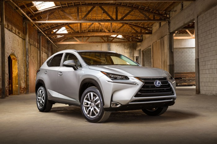 2015 Lexus NX pricing announced
