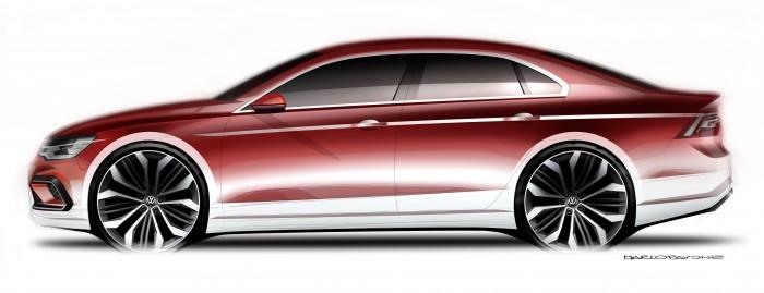 Volkswagen New Midsize Coup Debuts In Beijing Doesnt Beat Around