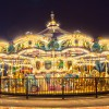 Myrtle Beach Carousel At Night