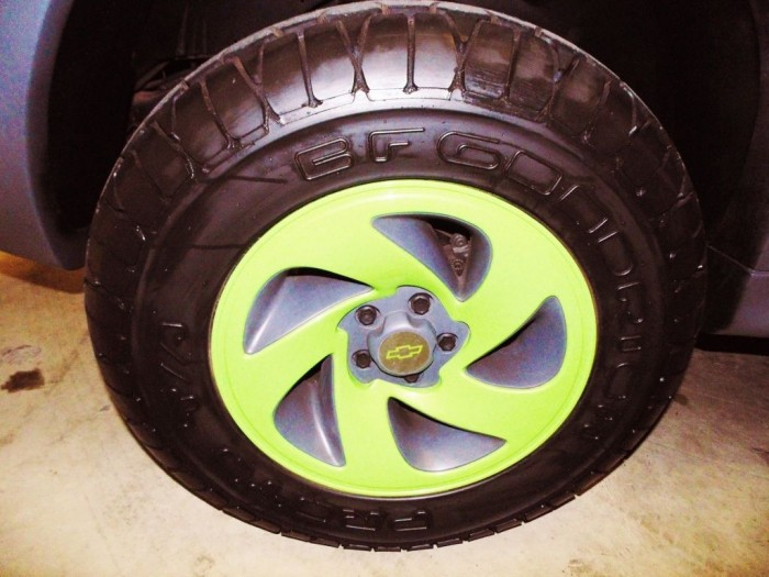 Chevy Highlander Concept wheel